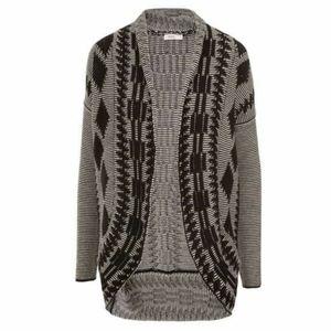 RICKI'S Aztec Cocoon sweater cardigan 😍